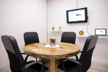 Barcelona Train station meeting rooms Meetingraum Sala Bobina image 0