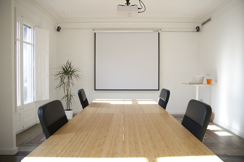 Barcelona workshop spaces Screening room Sala Mosaic image 2