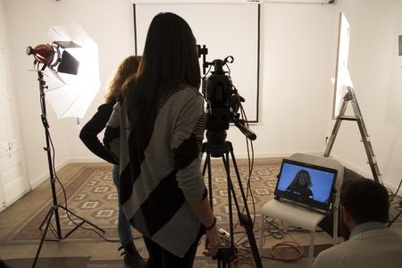 Barcelona workshop spaces Screening room Sala Mosaic image 6