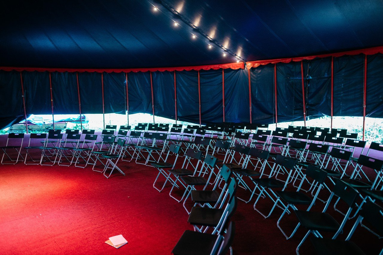 Hamburg workshop spaces Besonders Zirkuszelt - Zirkus Mignon image 0