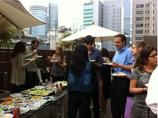 Hong Kong workshop spaces Terrace The Hive Wan Chai - Roof Deck Terrace image 13