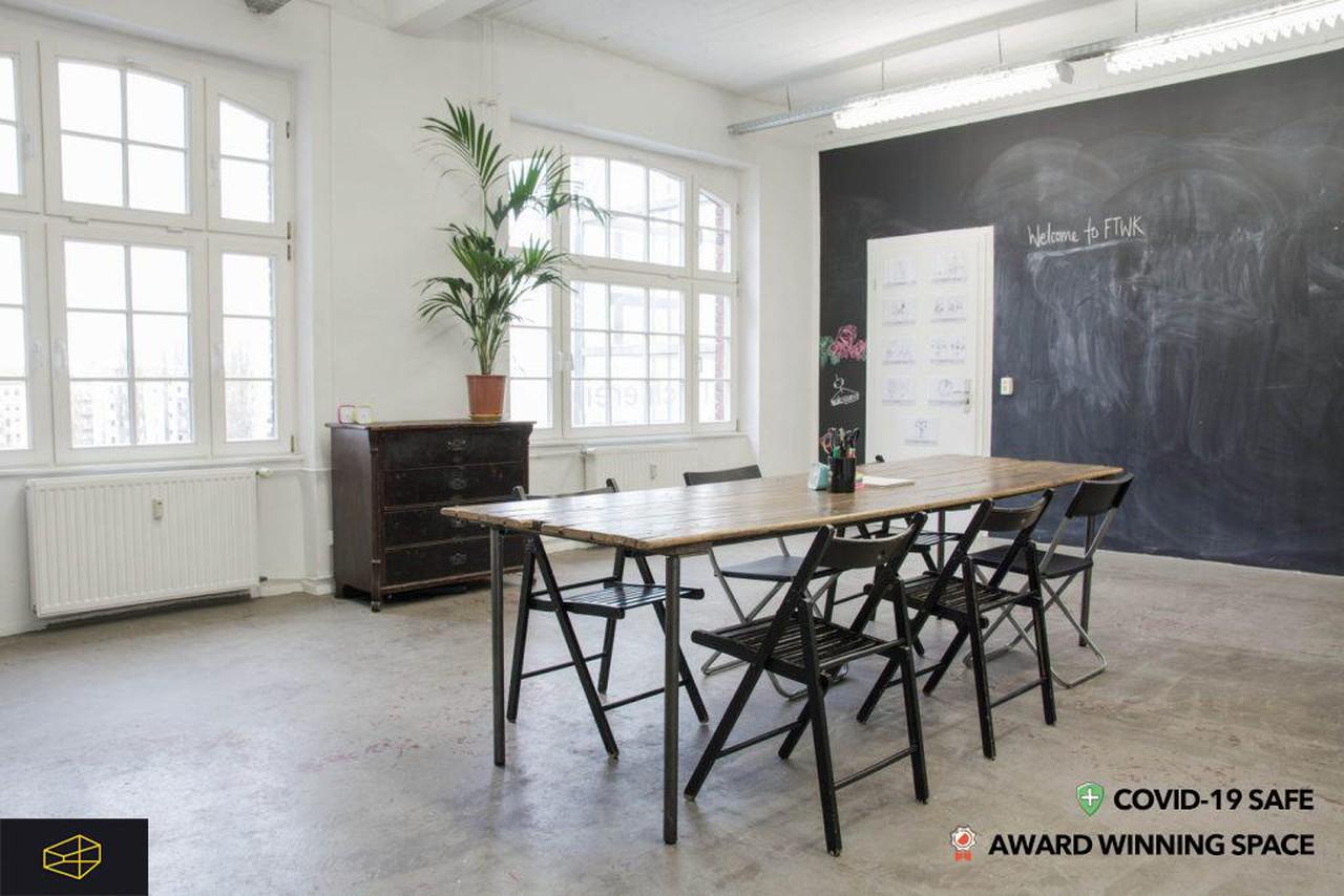 Berlin Schulungsräume Industriegebäude Design Thinking  + Creativity Space image 10