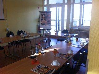 Nürnberg seminar rooms Meetingraum A&O Hostel - Durer image 2