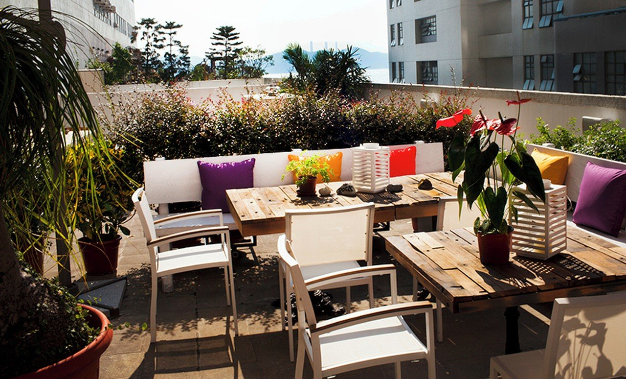 Hong Kong workshop spaces Terrace Air Space Club - Gallery and Terrace image 0