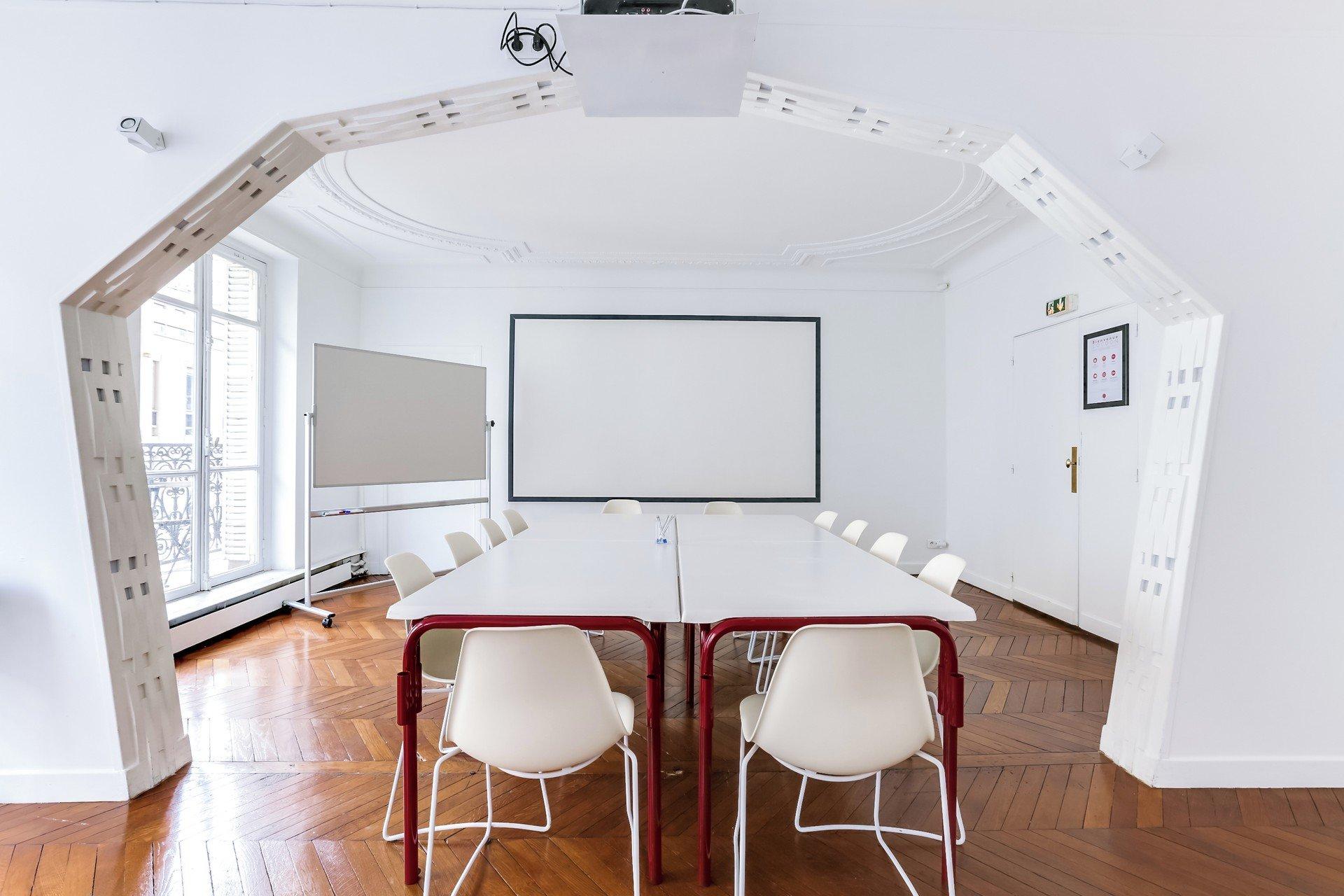 Paris Espaces de travail Salle de réunion Cocoon Pyramides - Steffie image 2