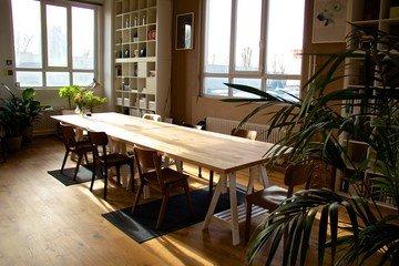 Frankfurt workshop spaces Meeting room Bright and spacious loft in industrial port image 3