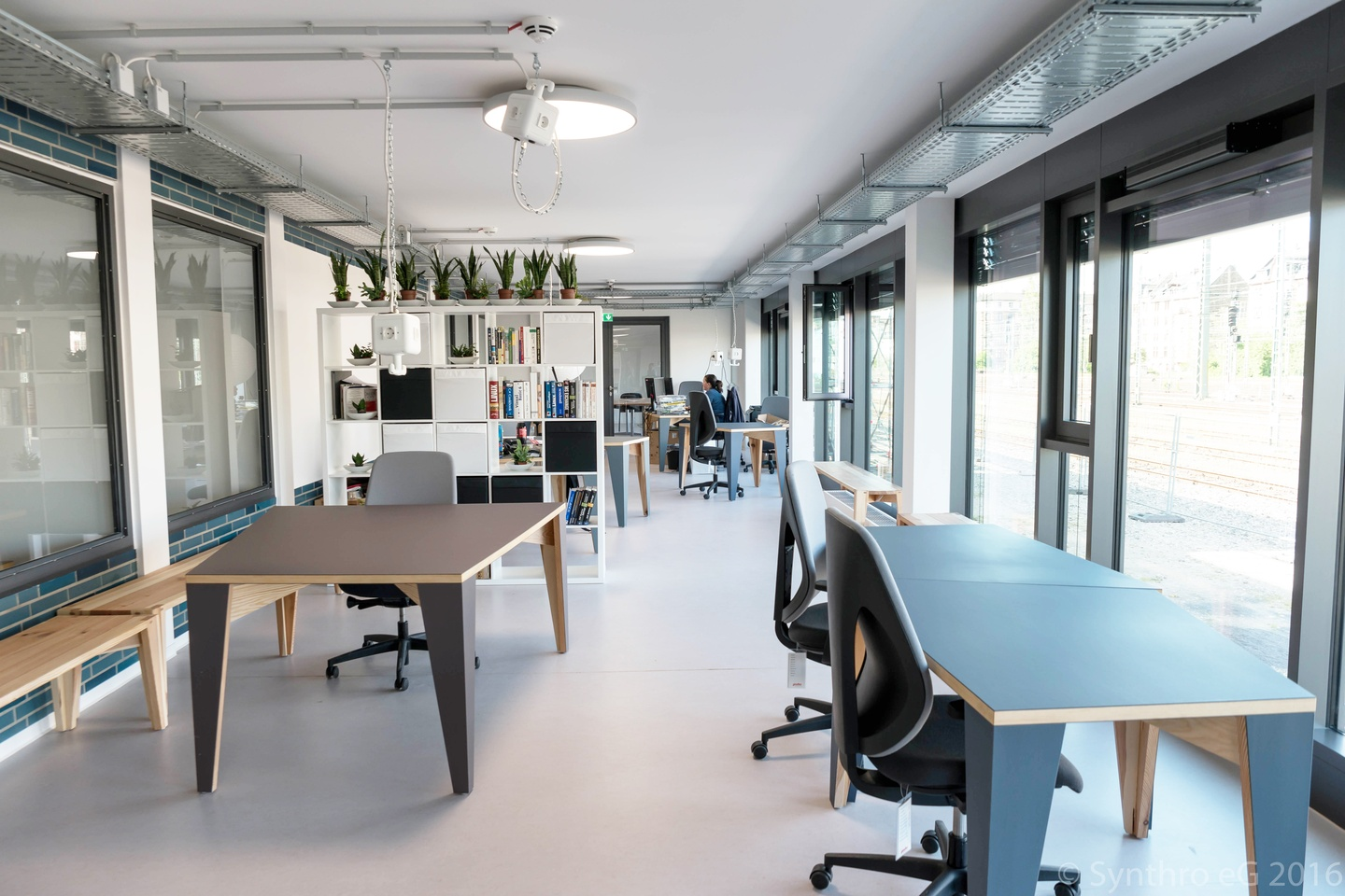 Frankfurt workshop spaces Coworking space Coworking-M1 / Combination of different rooms image 2