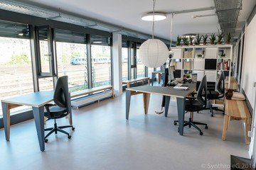 Francfort workshop spaces Espace de Coworking Coworking-M1 / Combination of different rooms image 4