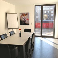 Hannover conference rooms Meetingraum Schwanenburg- Studio + Balkon image 1