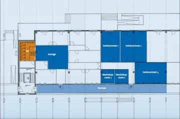 Düsseldorf Schulungsräume Industriegebäude Studieninstitut für Kommunikation GmbH Raum 2 image 7