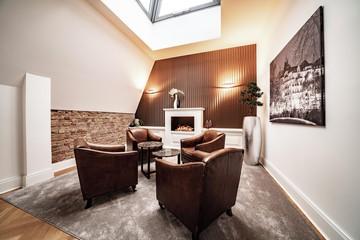 Berlin Konferenzräume Meetingraum Kamin Lounge