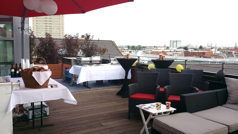 Berlin corporate event venues Rooftop Satellite Office - Haus Cumberland image 1