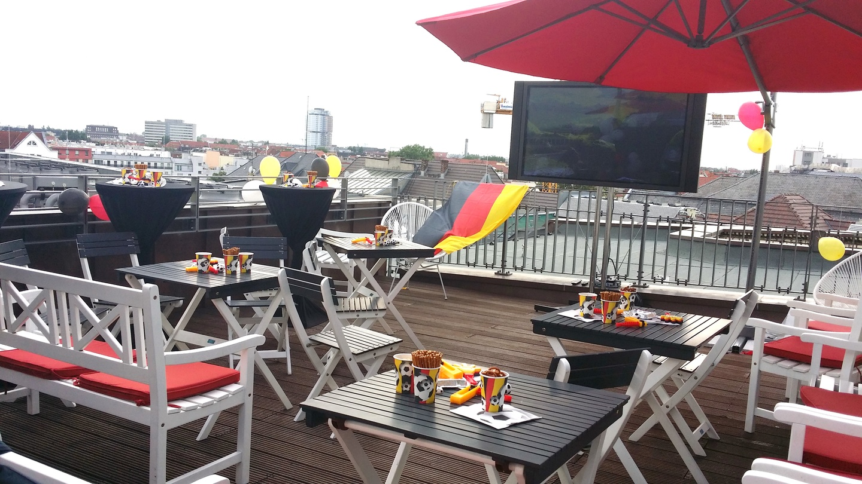 Berlin corporate event venues Rooftop Satellite Office - Haus Cumberland image 2