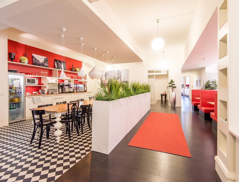 Hamburg Besprechungsräume Salle de réunion Satellite Office Hamburg - Kamin Lounge Gutruf Haus image 2