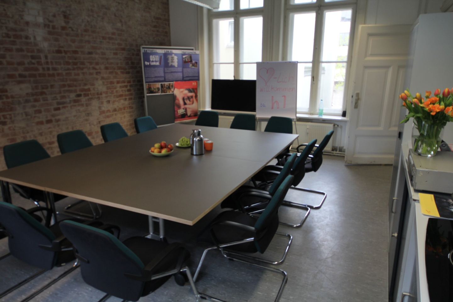 Hannover Train station meeting rooms Meetingraum H1 image 1