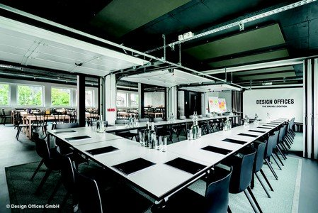 Frankfurt am Main training rooms Meetingraum Design Offices FFM - Training Room I + II image 3