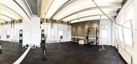 Düsseldorf training rooms Lieu Atypique reacme - fitness room image 0