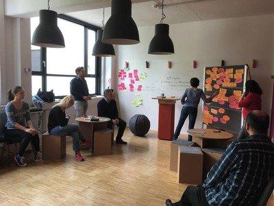 München Trainingsräume Besonders BalanLab Design Thinking und Workshop in München image 9