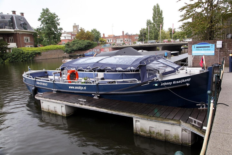 Amsterdam corporate event venues Boat 't Smidtje - Open Longboat image 10