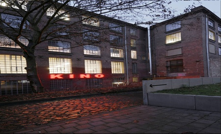 Leipzig workshop spaces Screening room Luru Kino image 6