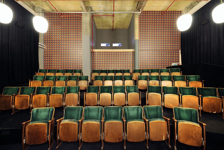 Leipzig workshop spaces Screening room Luru Kino image 2