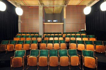 Leipzig workshop spaces Screening room Luru Kino image 2