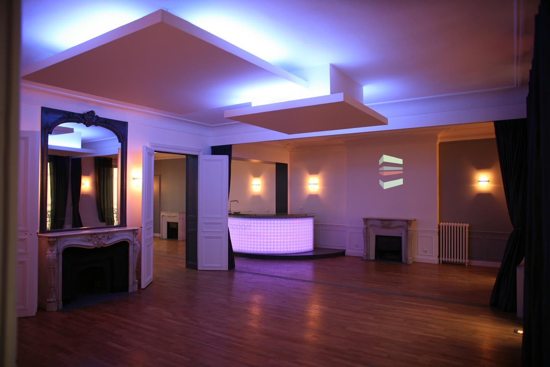 Paris corporate event venues Party room L'Appart Lafayette image 1