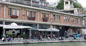 Paris corporate event venues Restaurant Point Éphémère - Le Restaurant image 0