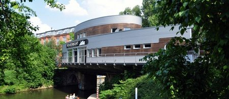 Leipzig corporate event venues Lieu Atypique Kulturhafen Riverboat image 0