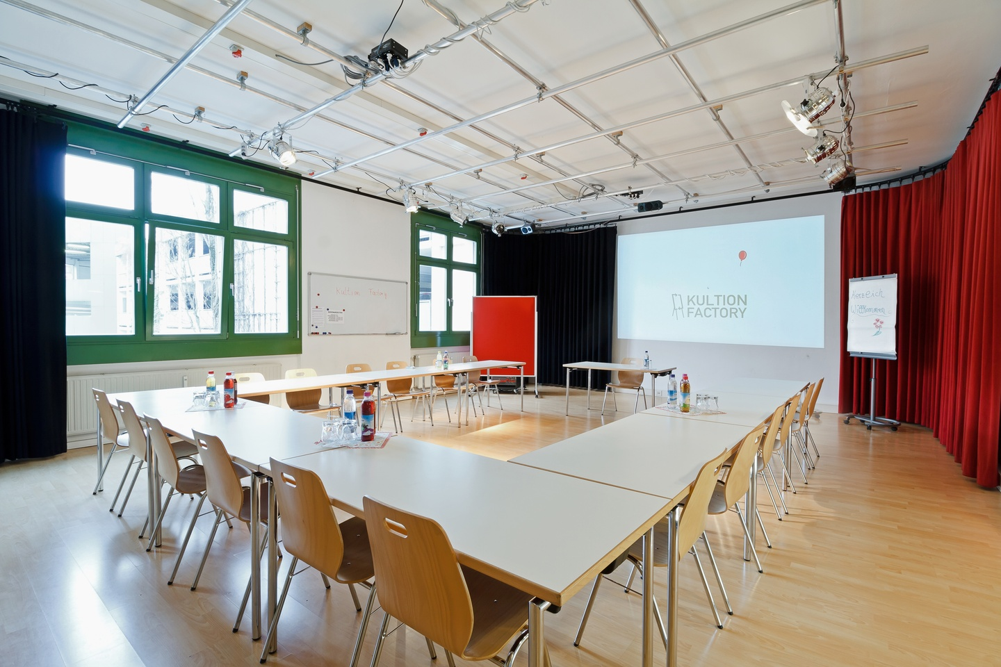 Munich seminar rooms Lieu industriel Kultion Factory - Studio image 1