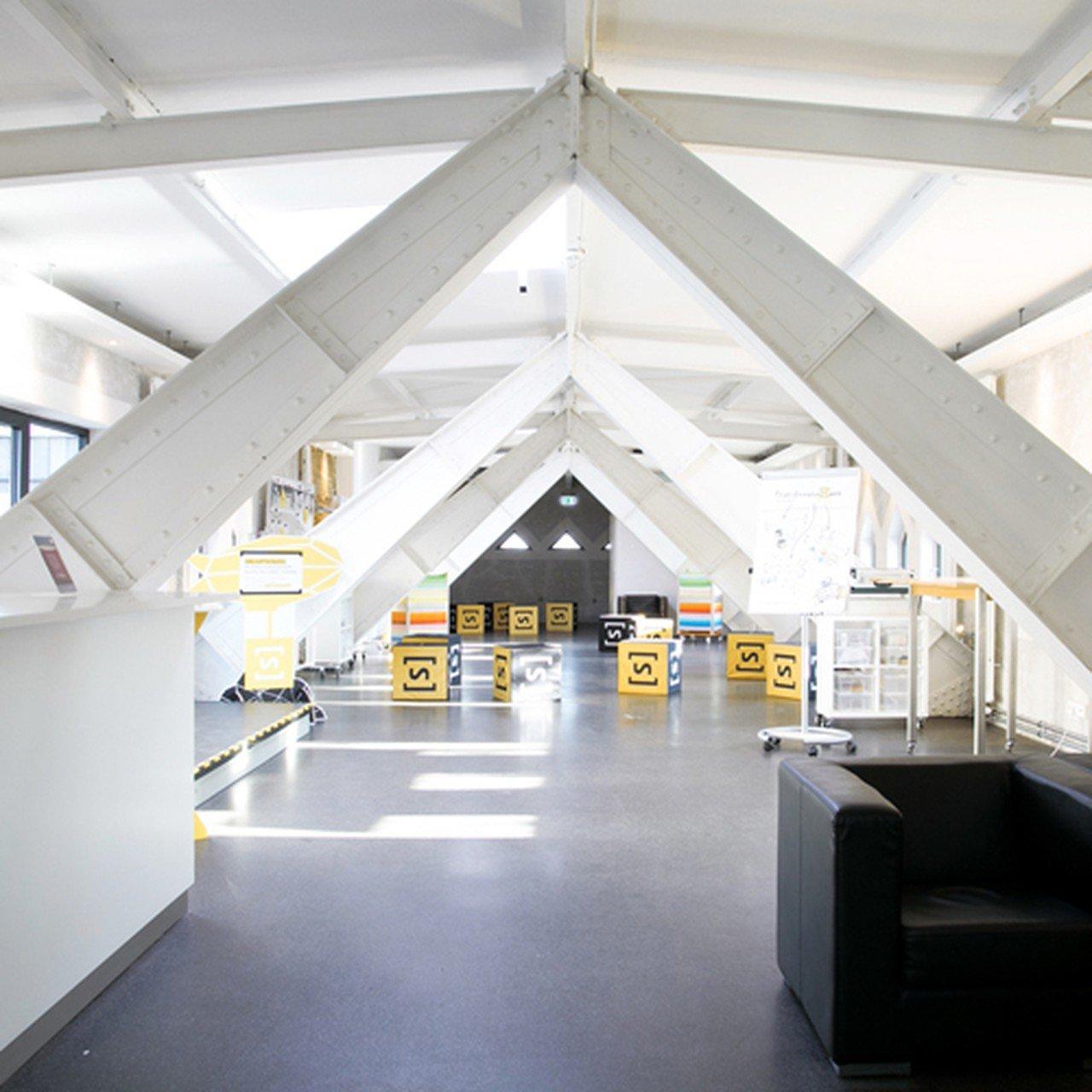 Hannover workshop spaces Industriegebäude TRANSFORMATIONSWERK - Luftschloss image 1
