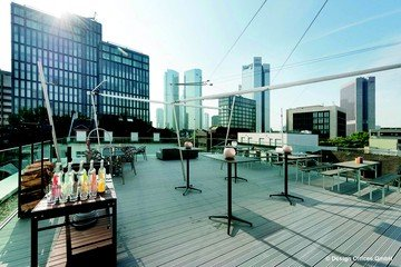Francfort corporate event venues Rooftop Design Offices Frankfurt Westend - Rooftop image 4