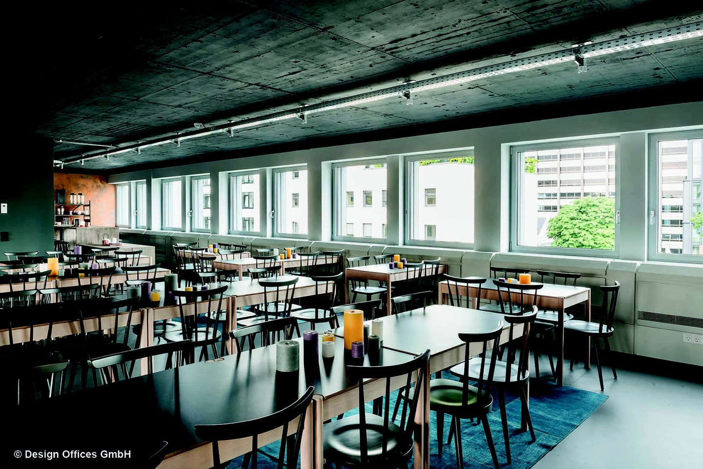 Frankfurt am Main corporate event venues Restaurant Design Offices Frankfurt Westend - Eatery image 4