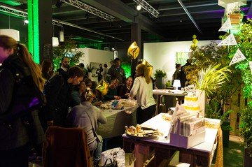 Frankfurt workshop spaces Industrial space Kreativstadt [blickfang] event design image 2