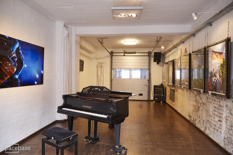Hamburg conference rooms Industriegebäude Kulturwerkstatt- Garage image 3