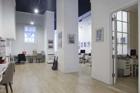 NYC workshop spaces Galerie d'art Evans NYC - Whole Space image 4