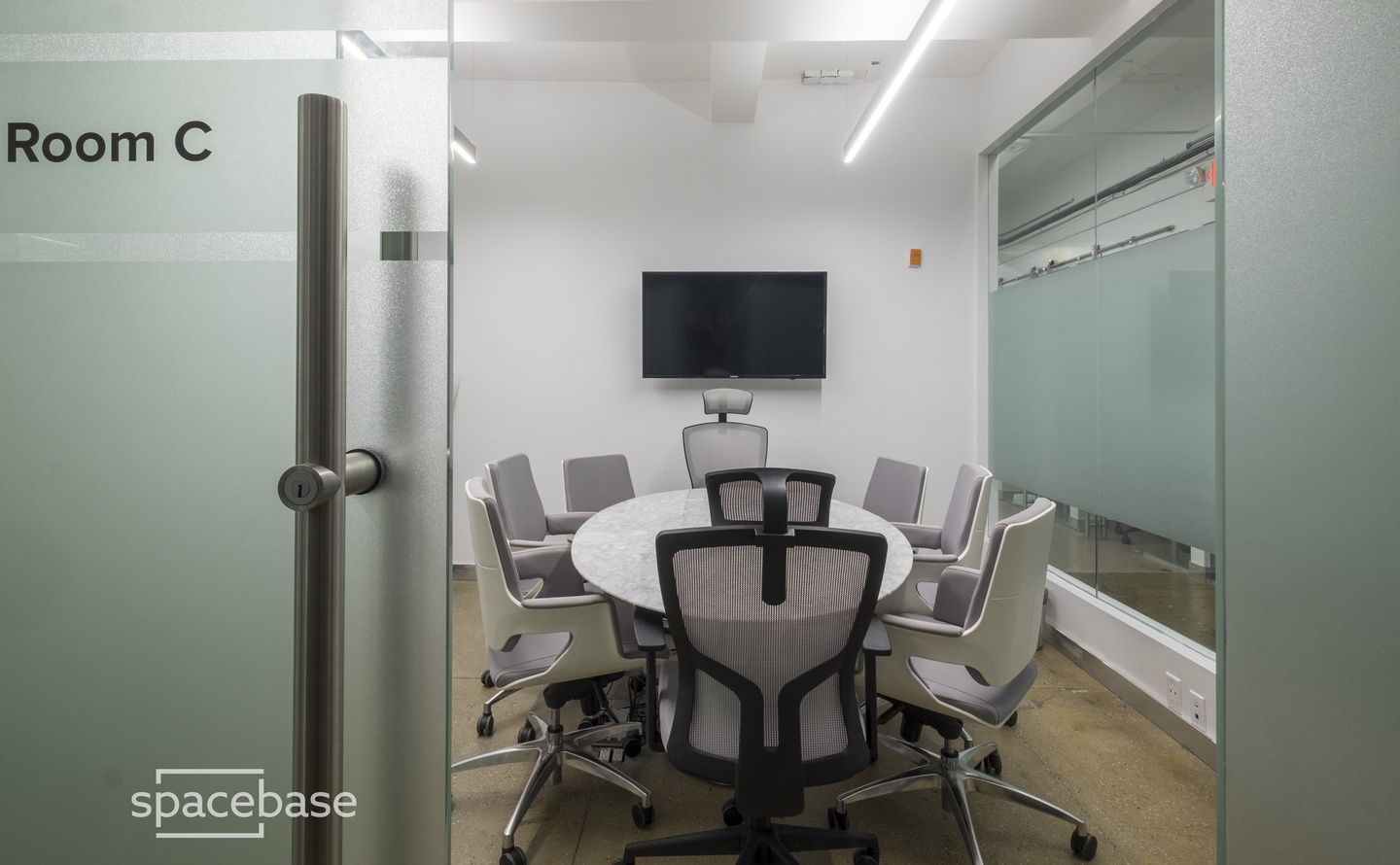 NYC conference rooms Salle de réunion WorkVille Conference Room C image 2