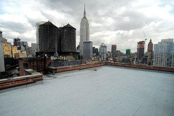 NYC corporate event venues Dachterrasse Colliton Rooftop image 0