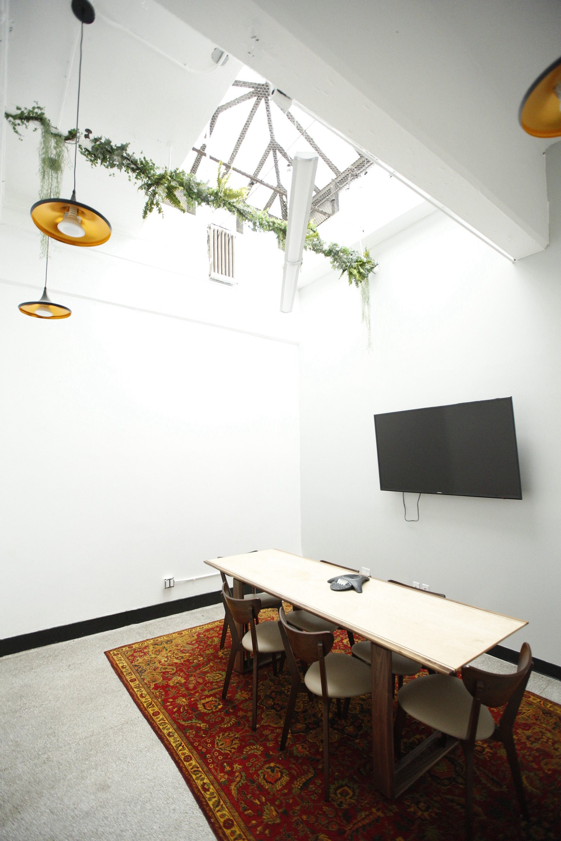 NYC conference rooms Meetingraum BKLYN Commons Skylight Conference Room image 0