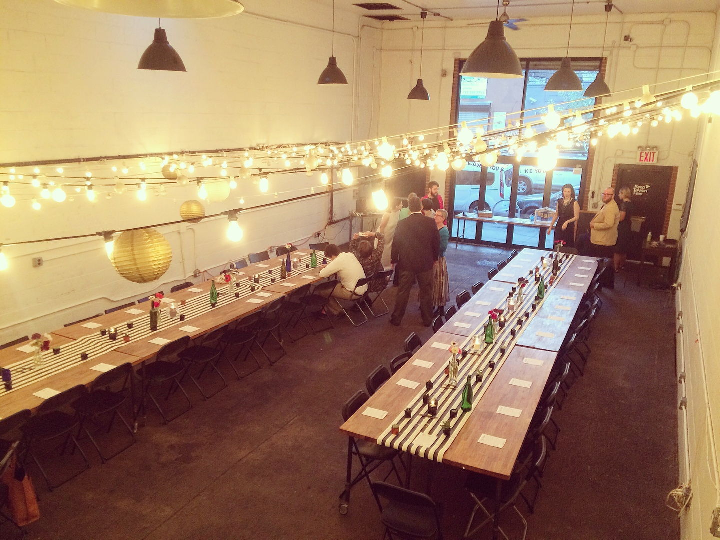 NYC corporate event venues Coworking space Bat Haus image 3