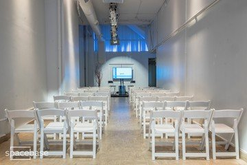 NYC corporate event venues Galerie Punto Space Studio A image 4