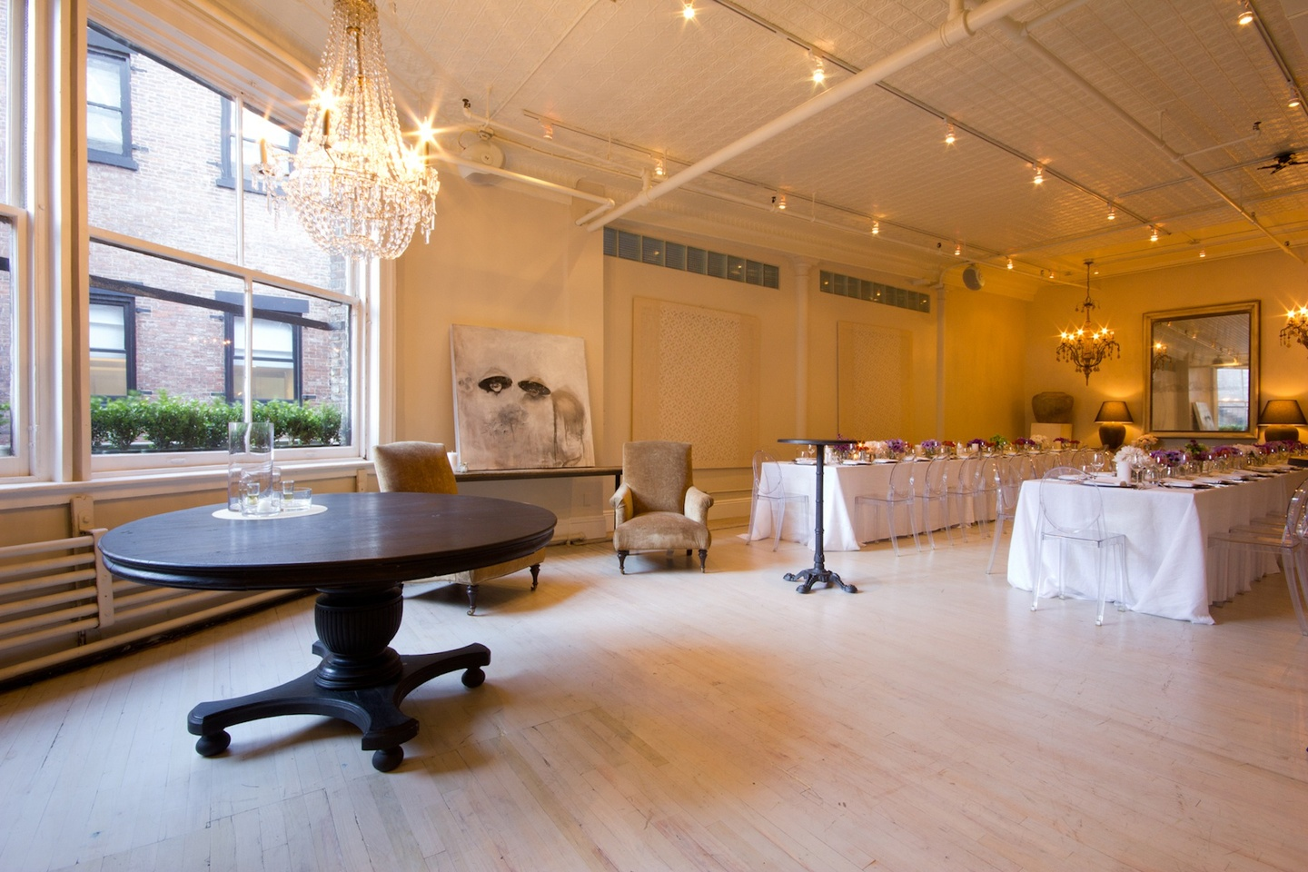 NYC corporate event venues Salle de réception Sixth Floor Loft image 2