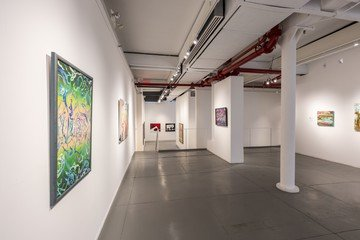 NYC corporate event venues Galerie White Space Chelsea at Agora Gallery image 0