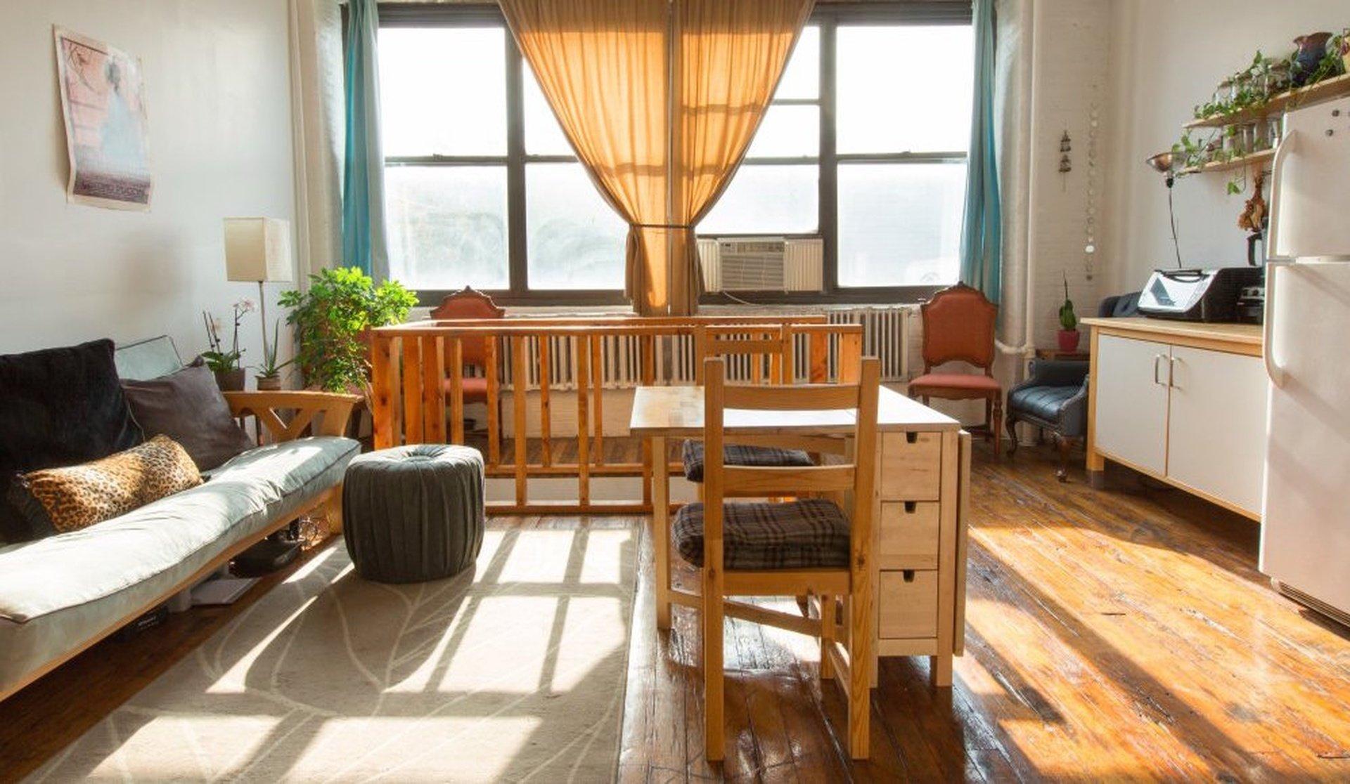 NYC workshop spaces Private residence Brooklyn 2 Story Loft: Bright upstairs, Dark downstairs, Rooftop image 0