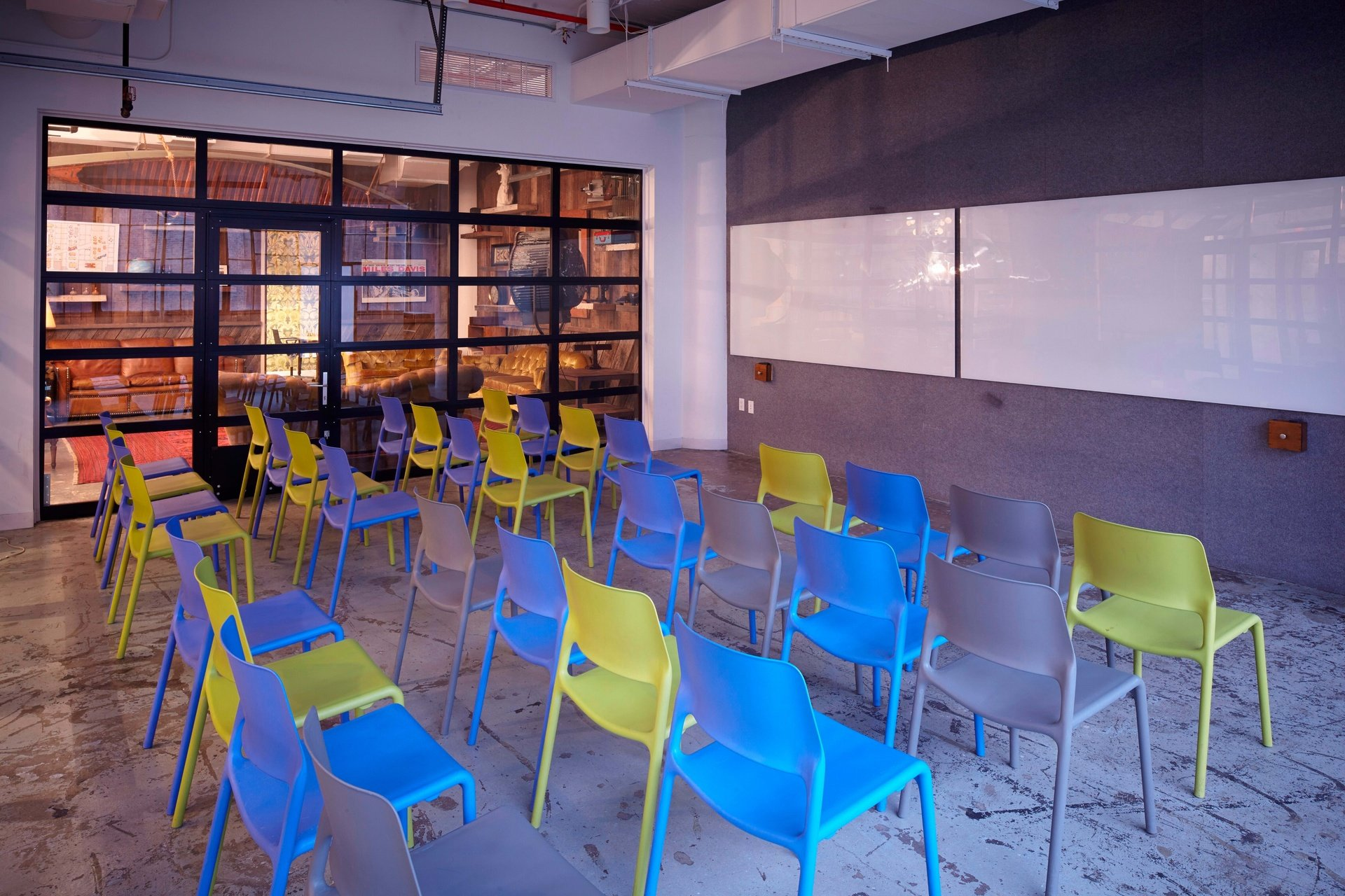 NYC seminar rooms Coworking Space Centre for Social Innovation - Classroom A image 0