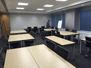 NYC training rooms Meeting room Corporate Suites 30 person Training Room 8A image 1