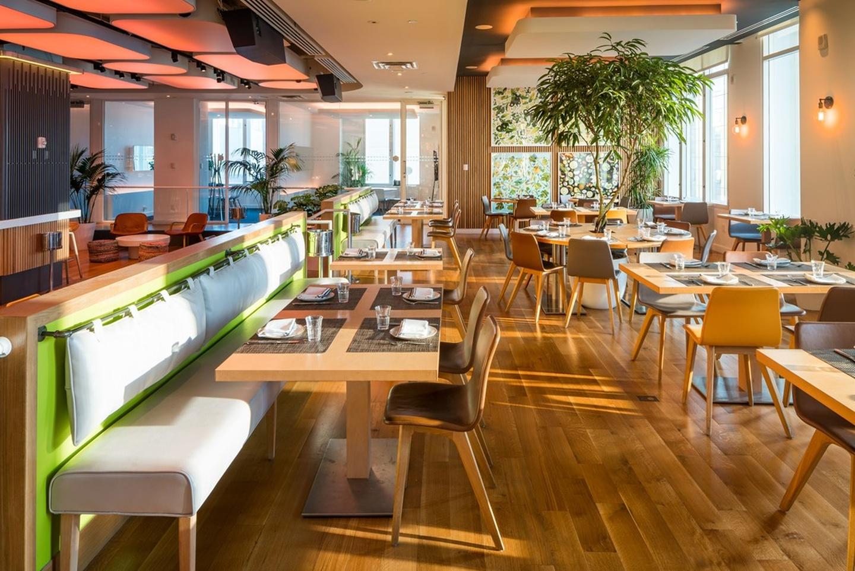 NYC corporate event venues Restaurant Yotel - Restaurant image 0