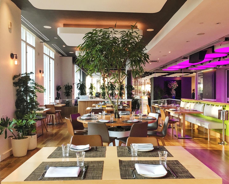 NYC corporate event venues Restaurant Yotel - Restaurant image 1