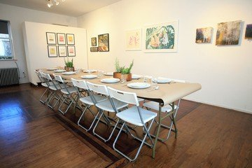 NYC conference rooms Galerie d'art Court Tree Collective image 3
