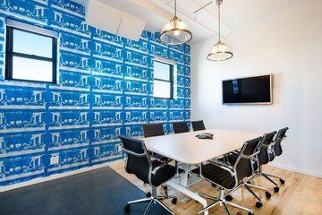 NYC conference rooms Coworking space PencilWorks - Blue Room image 0